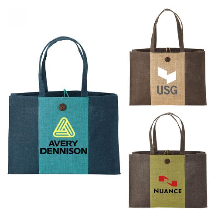 Eco-Friendly Natural Jute Tote Bags