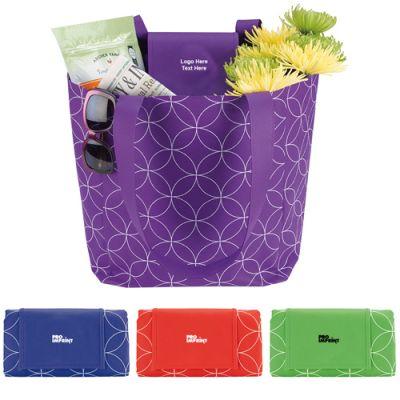 Custom Imprinted Foldable Tote Bags