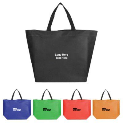 Custom Printed Non Woven Beach Tote Bags