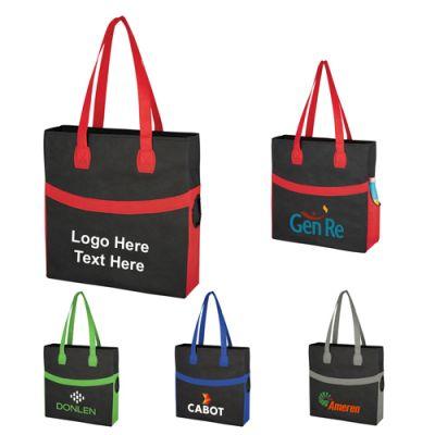 Customized Non-Woven Sahara Tote Bags