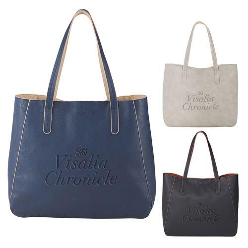 Custom Printed Brooklyn Pebbled Tote Bags