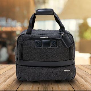 Custom Printed Bettoni Rolling Executive Travel Case Bags