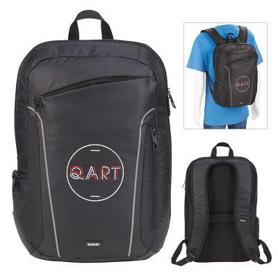 15 Inch Custom Printed elleven Pact Computer Backpacks