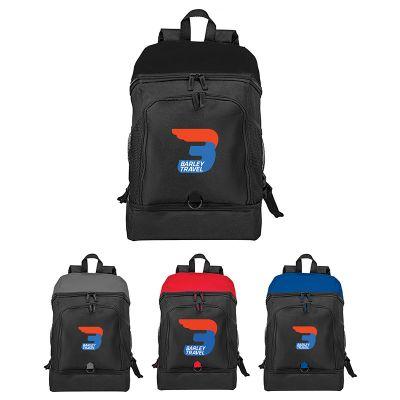 15 Inch Custom Top Open Computer Backpacks
