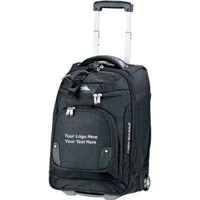 21 Inch Custom High Sierra Wheeled Carry On with Computer Sleeve Bags