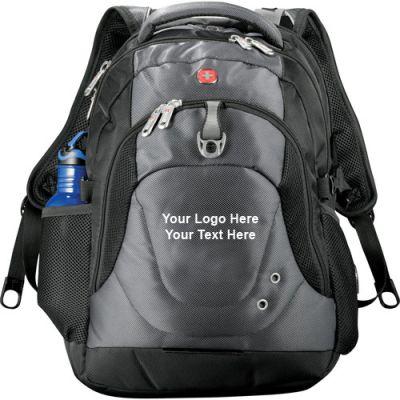 Custom Imprinted Wenger Tech Computer Backpacks