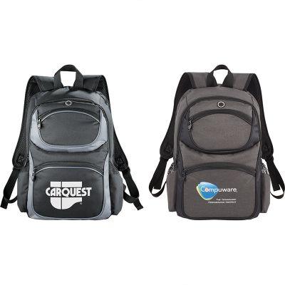 Custom Printed Continental TSA 15 Inch Computer Backpacks