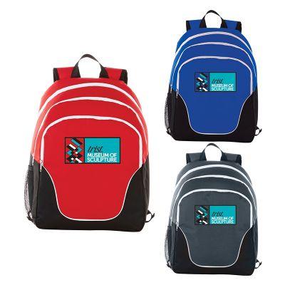 Custom Printed Tri Computer Backpacks
