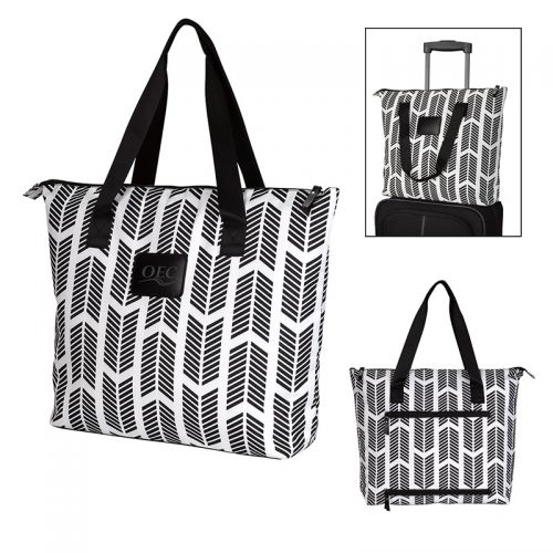 Chevron Chic Tote Bags