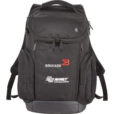 Customized elleven Axis 17 Inch TSA Computer Backpacks