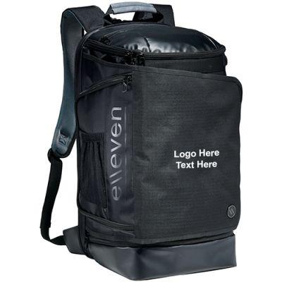 Promotional 17 Inch elleven Pack-Flat Computer Backpacks