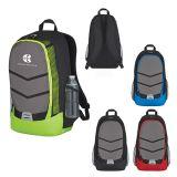 Promotional Diamond Lattice Accent Backpacks