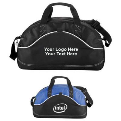 Custom 18 Inch Boomerang Sport Duffel Bags