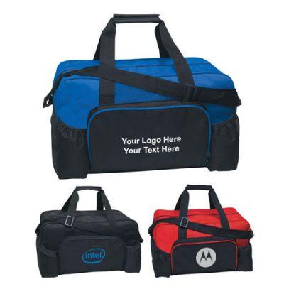 Custom Imprinted Econo Duffel Bags