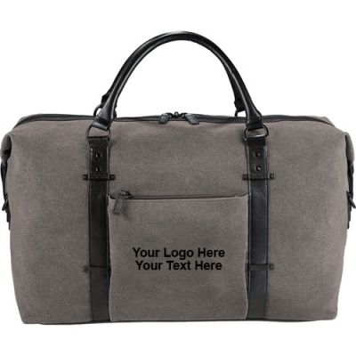 Custom Imprinted Kenneth Cole® Canvas Duffel Bags