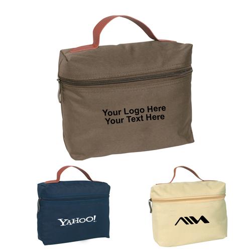Custom Imprinted Cosmo Toiletry Bags