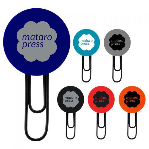 Custom Printed PVC Bookmark Clips