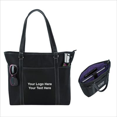 Custom Printed She Rules Tote Bags