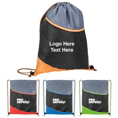 Custom Atchison Landon Sport Drawstring Bags