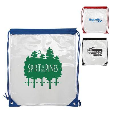 Custom Imprinted Clear PVC Backpacks