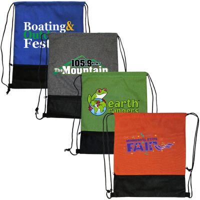 Custom Imprinted Full Color Mesh Pocket Backpacks
