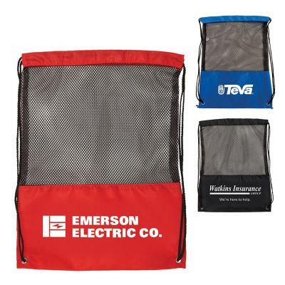 Custom Imprinted Mesh Backpacks