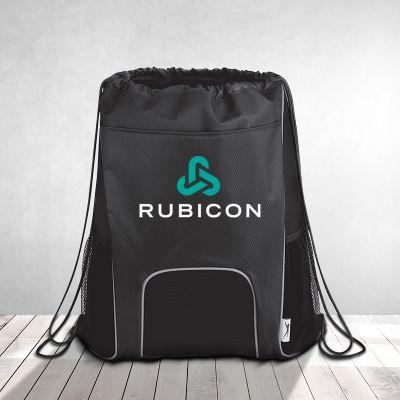 Custom Imprinted Slazenger Sporty Designed Competition Cinch Bags