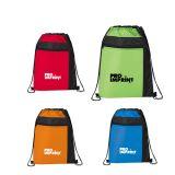 Custom Printed Color Pop Drawstring Sportspack