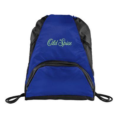 Custom Printed Deluxe Mesh Accent Drawstring Sportspacks