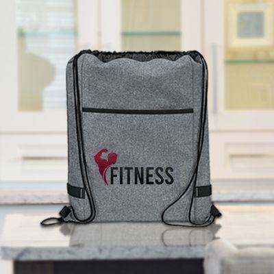 Custom Printed Reverb Drawstring Bags
