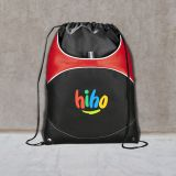 Promotional Logo Vista Cinch Drawstring Bags