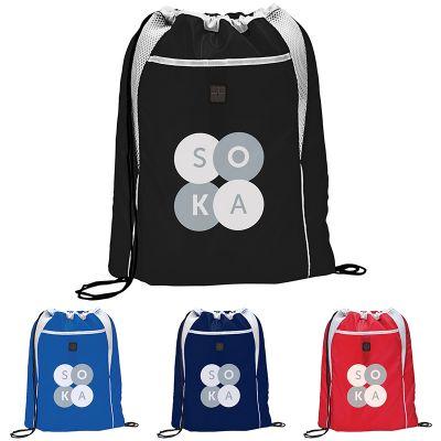 Customized Dart Drawstring Bags