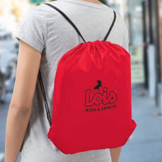 Customized Oriole Drawstring Cinch Backpacks
