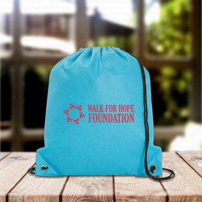 Promotional Logo Polypropylene Drawstring Bags - Drawstring Bags ...