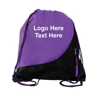 Promotional Nitro Polyester Drawstring Bags
