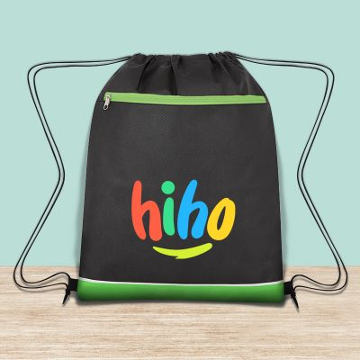 Promotional Non-Woven Bandura Drawstring Bags