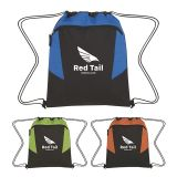 Promotional Tahoe Heathered Drawstring Backpacks