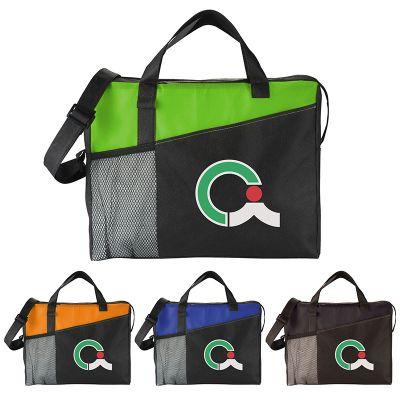 Custom Imprinted Full Time Business Brief Bags
