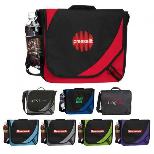 Custom Logo Imprinted Storm Messenger Bags