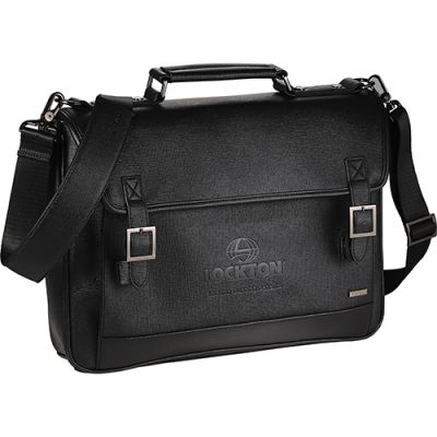 Customized 15 Inch Luxe Computer Messenger Bags
