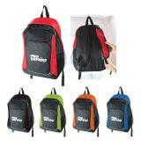 Custom Printed Double Striped Backpacks