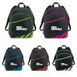 Promotional Flash Backpack with Side Mesh Pocket