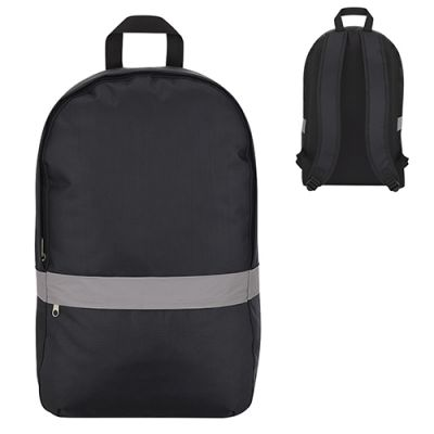 Promotional Reflective Strip Backpacks