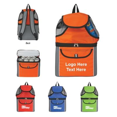 Custom Printed All-In-One Insulated Beach Backpacks