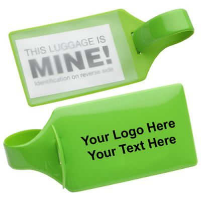 10x2.5 Inch Promotional Standard Bag Tag with ID Card