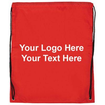 15 x 18 Inch Promotional Large Drawstring Backpacks