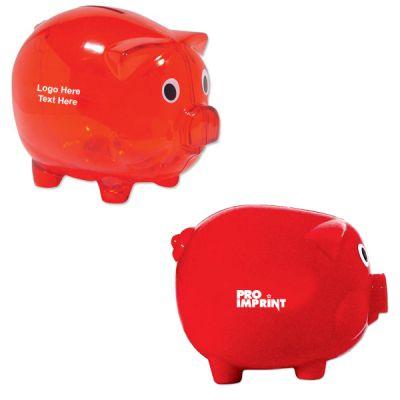 Custom Classic Piggy Banks