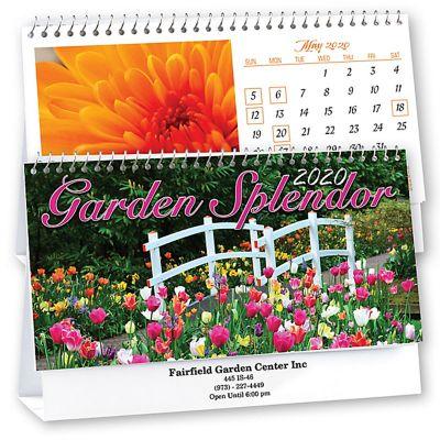 2018 Garden Splendor Desk Calendars
