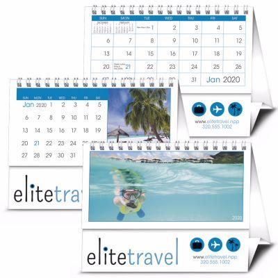 Custom 2020 12- Month Desk Tent Calendars