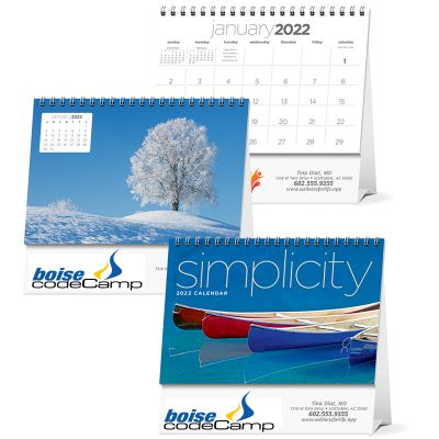 2018 Simplicity Large Desk Calendars